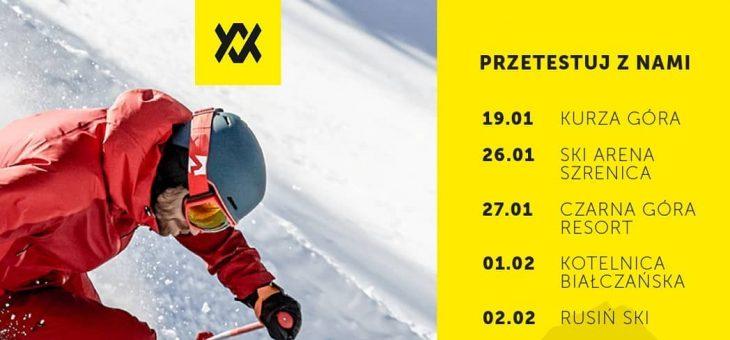 VÖLKL WINTER TOUR 2020 – Testy narciarskie