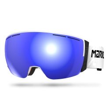 GOGLE MARKER 3D+ MAP WHITE - Blue HD mirror