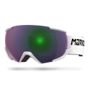 GOGLE MARKER 16:10+ MAP WHITE - Green Plasma
