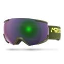 GOGLE MARKER 16:10+ MAP OLIVE - Green Plasma
