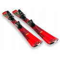 Volkl Racetiger JR. RED + vMotion 2020