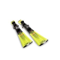 Volkl Racetiger JR. Yellow + vMotion 2021