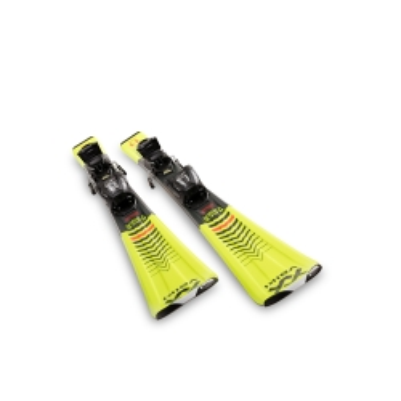 Volkl Racetiger JR. Yellow + vMotion 2020
