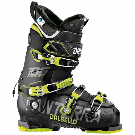 Buty DALBELLO PANTERRA 100 BLACK LIME 2019