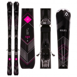 Volkl FLAIR 73 Black 2017 + Marker 3MOTION10.0 D Lady