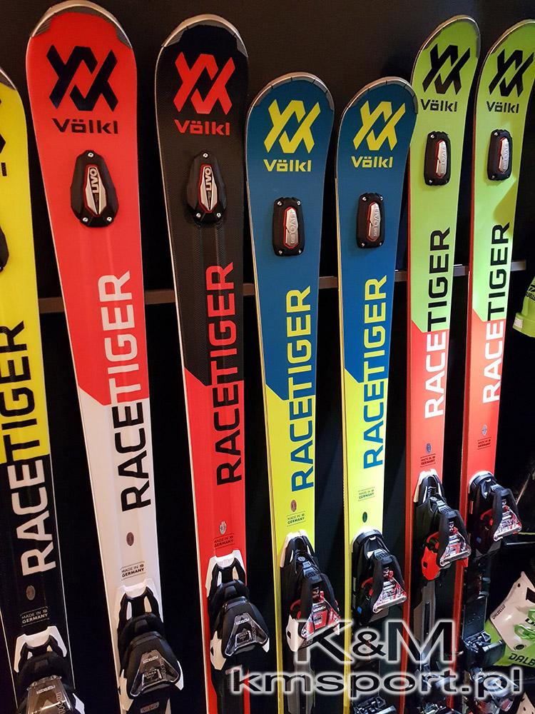 Narty Volkl Racetiger RC UVO WHITE, RC UVO BLACK, SL UVO, GS UVO, kolekcja 2019